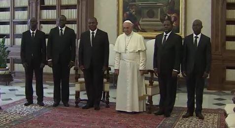 Centrafrique au Vatican