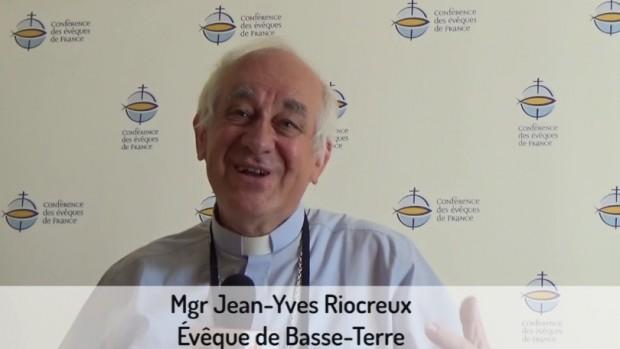 Mgr Riocreux JMJ