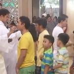 vidéo pape nov 2017 prier pour Asie