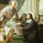sainte Jeanne de chantal et saint françois de sales